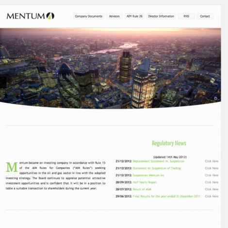 Mentum Inc.