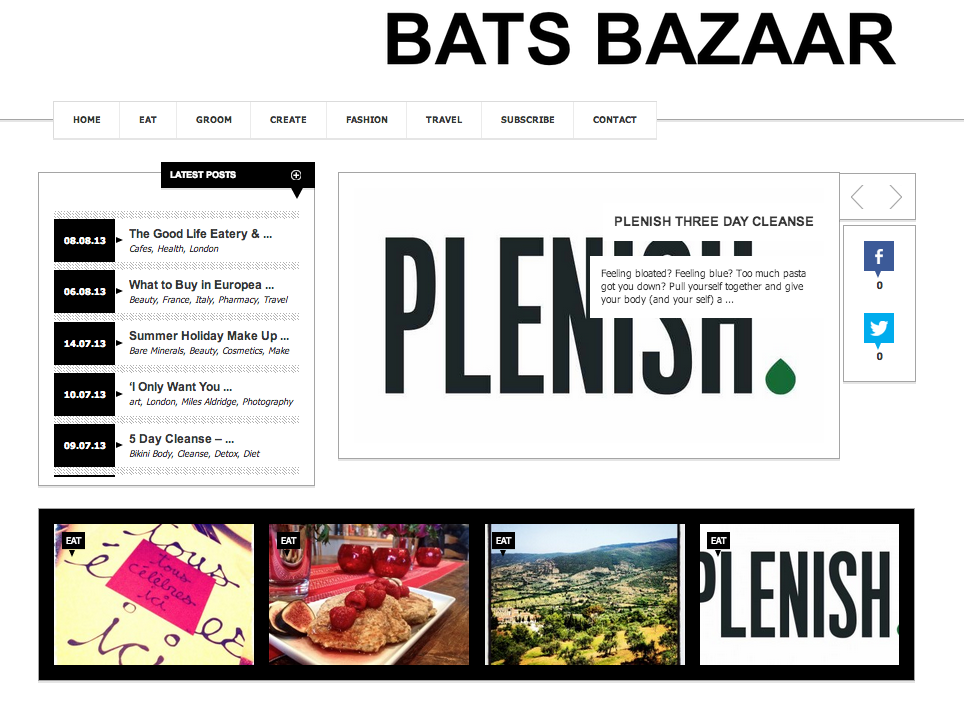 Bats Bazaar Screen Shot