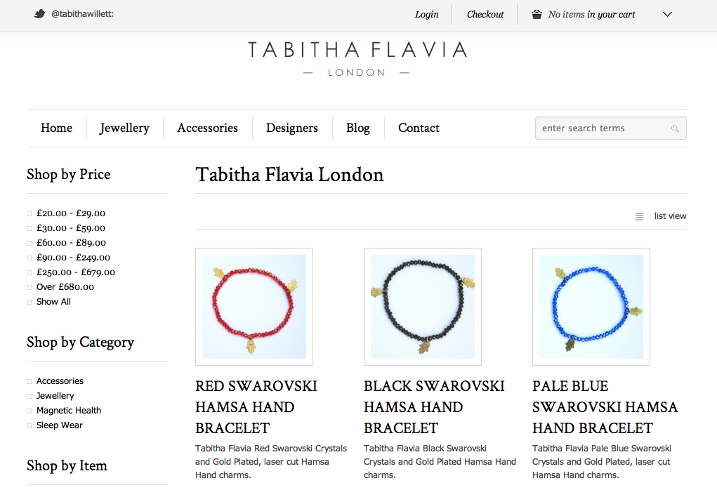 Tabitha Flavia Screen Shot