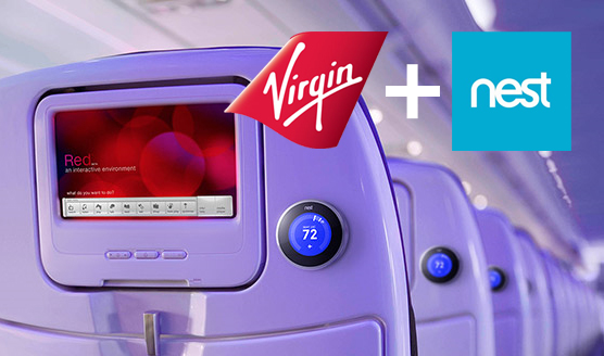 Virgin and Nest partner up